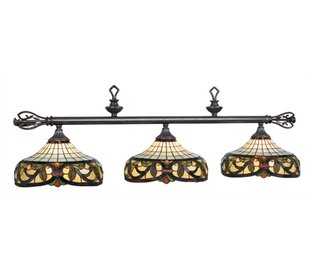 Fleur De Lis Living Bowdon 3-Light Billiards Light