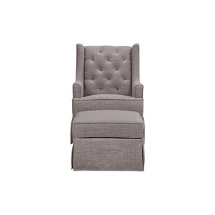 Sadie Glider and Ottoman by Million Dollar Baby Classic