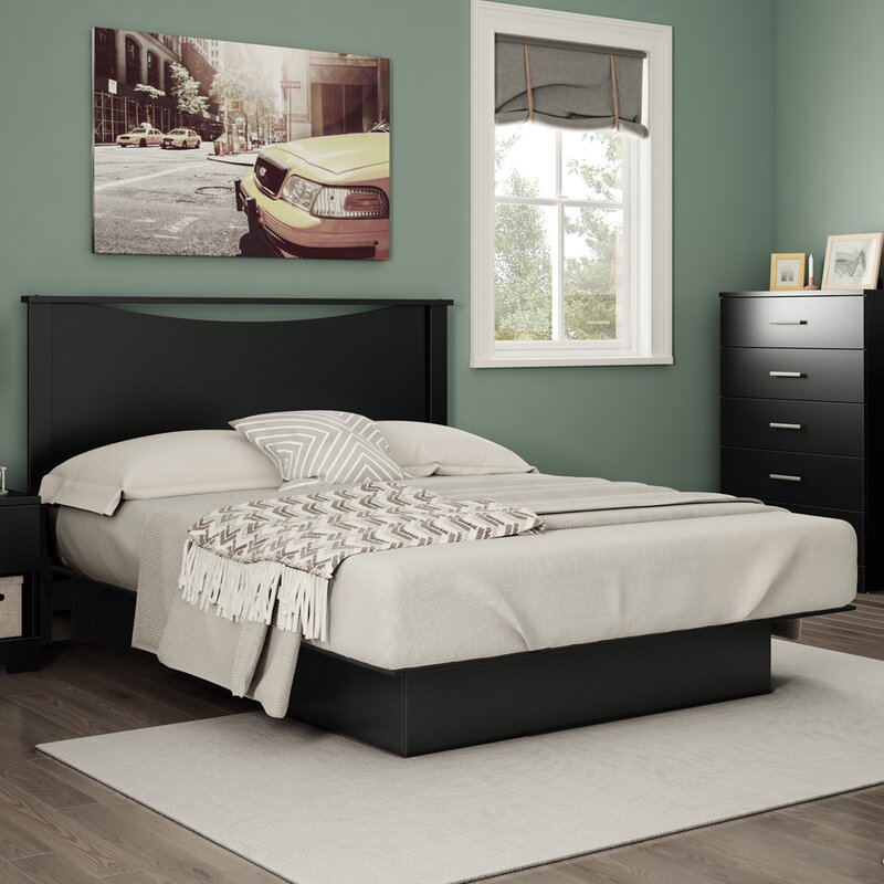 Black Gramercy Queen Storage Platform Bed (Part Number: 10220) by South Shore