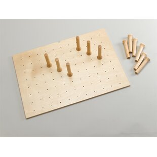 Rev-A-Shelf Wood Peg Board System 6.62