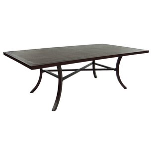 Tarvin Classical Aluminum Dining Table by Leona Fresh
