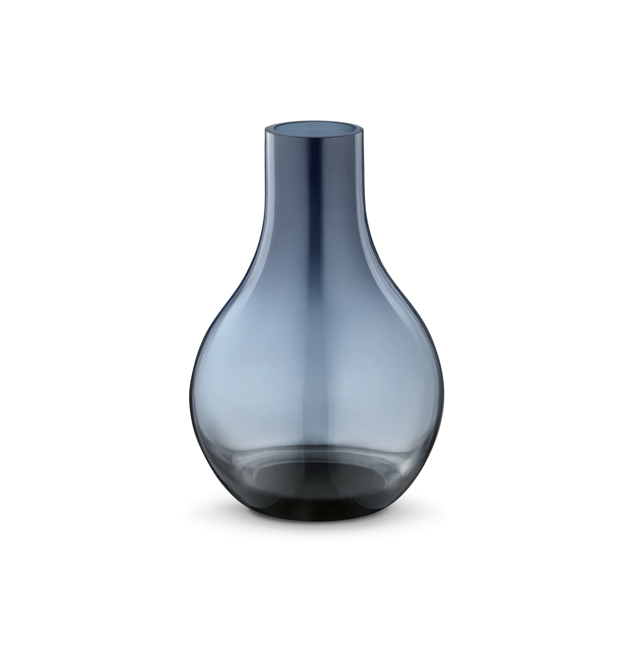 Cafu Blue 5 83 Indoor Outdoor Glass Table Vase Allmodern