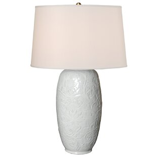 Botanical Relief Vase 36 Table Lamp