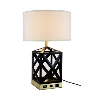 Top Reviews Verona 23.5 Table Lamp By Everly Quinn