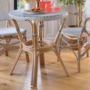 Tawanna Rattan Dinning Table by Bayou Breeze