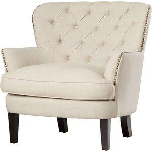 Celestin Flour Upholstered Armchair by Lark Manor