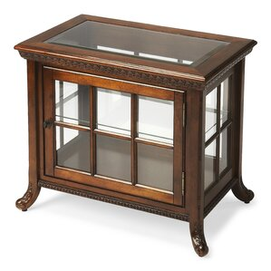 Plantation Cherry Chair Side Curio Cabinet by Butler
