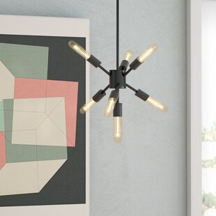 Langley Street Fairways 7-Light Sputnik Chandelier