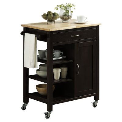 Hiro Kitchen Cart by Andover Mills