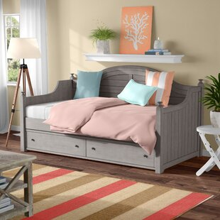 Bargain Meryl Twin Daybed with Trundle by Beachcrest Home Reviews (2019) & Buyer's Guide