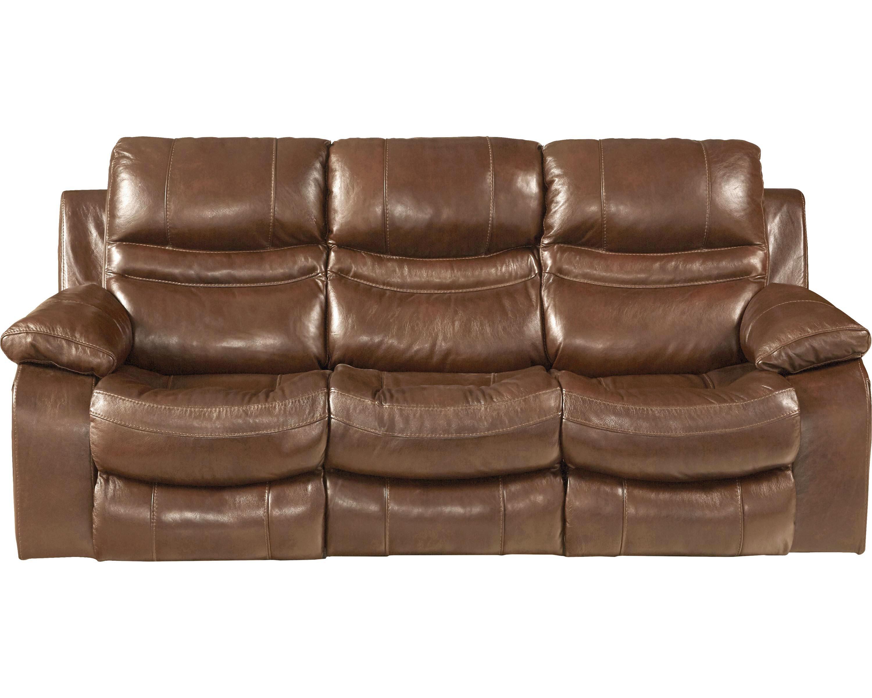 Patton Leather Reclining Sofa