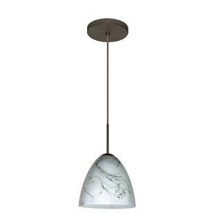 Besa Lighting Vila 1-Light Cone Pendant
