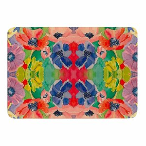 Spring Time by Gukuuki Memory Foam Bath Mat