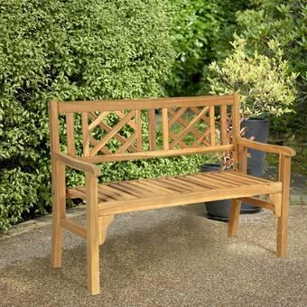 Rosecliff Heights Masie Garden Bench Wayfair
