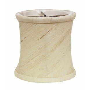 Slant 4.25 Silk/Shantung Drum Lamp Shade