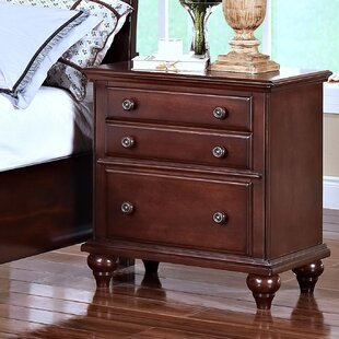 Jarvis 2 Drawer Nightstand