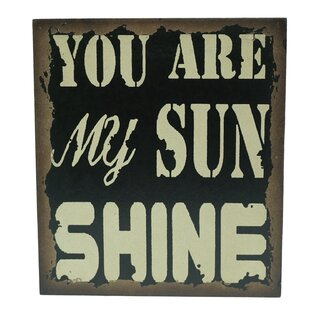 You Are My Sunshine Wall Decor | Wayfair
