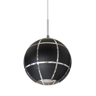 Avalon 1-Light Globe Pendant by Wrought Studio