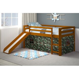 Karyn Twin Loft Bed with Tent