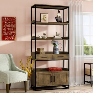 Shop For Fort Oglethorpe Etagere Bookcase By Laurel Foundry Modern Farmhouse