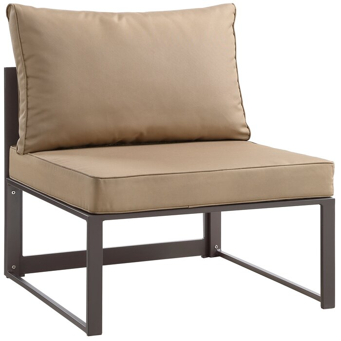 Annemarie Outdoor Patio Chair With Cushions