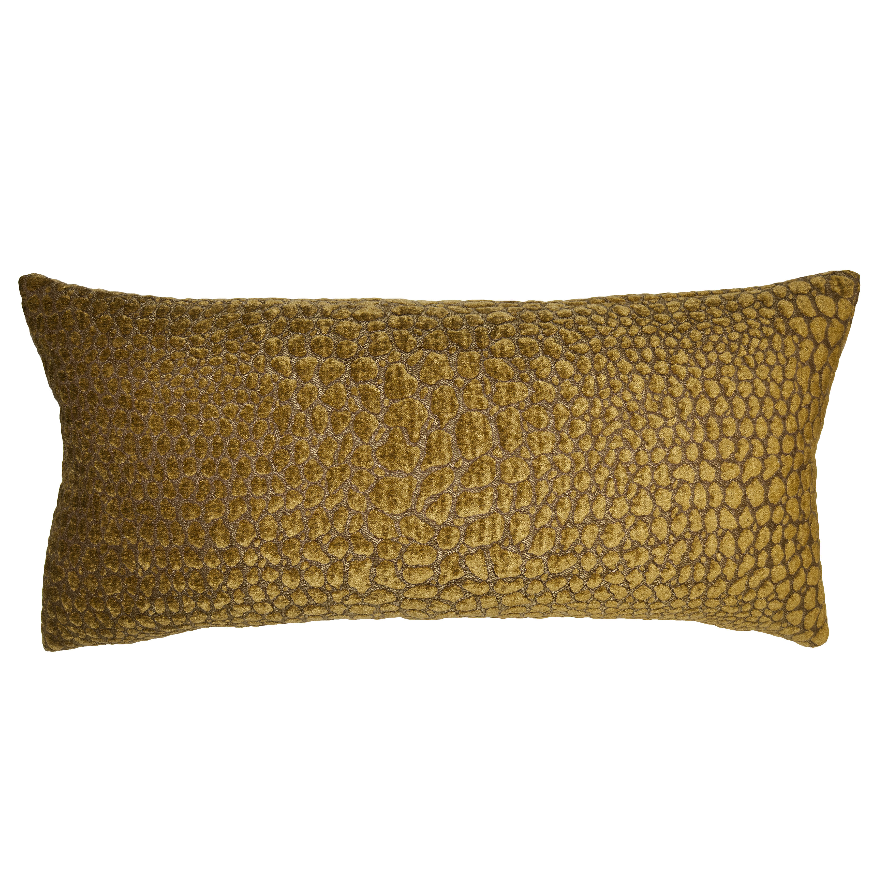 Square Feathers Croco Feathers Animal Print Pillow Perigold