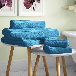 Treyton 6 Piece Turkish Cotton Towel Set