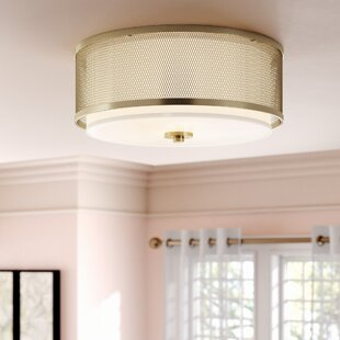 Mercer41 Rockwell 3-Light Flush Mount
