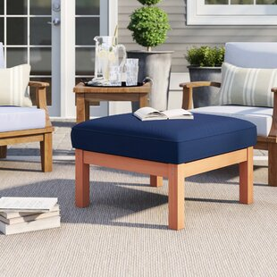Rossi Outdoor Ottoman with Cushion by Birch Lane? Heritage