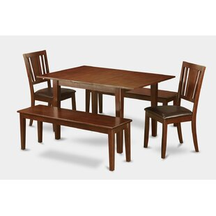 Lorelai 5 Piece Dining Set by Alcott Hill Sale