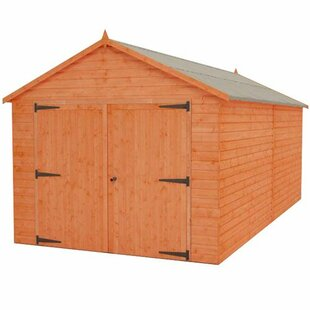 Tiger 10 Ft. W X 20 Ft. D Shiplap Apex Shed By Tiger Sheds