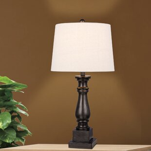 Top Reviews Alto Resin Column 28 Table Lamp By Three Posts