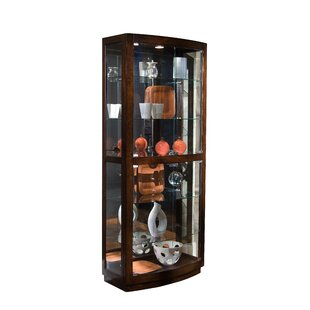 Cheshire Lighted Curio Cabinet