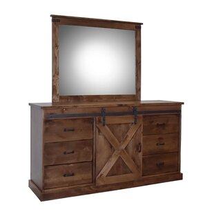 Pullman 6 Drawer Dresser by Loon Peak