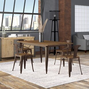 Reedley 5 Piece Dining Set Trent Austin Design
