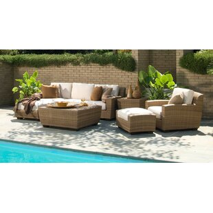 Saddleback Deep Seating Group with Cushions