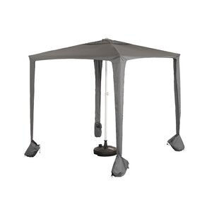 Gerber 2m Square Traditional Parasol By Freeport Park