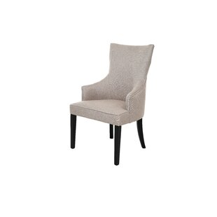 Giolou Upholstered Wingback Parsons Chair Set of 2
