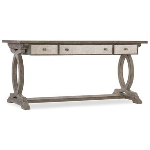 Hooker Furniture Rustic Glam Trestle Writing Desk