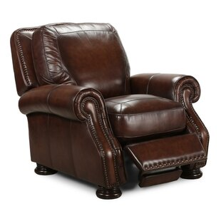 Darby Home Co Ranold Leather Manual Recliner