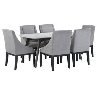Dumfries 7 Piece Pub Table Set Brayden Studio