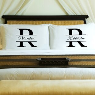 Stamped Couple's Pillow Case (Set of 2)