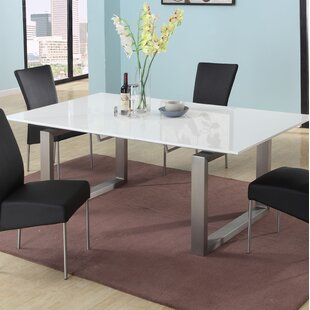 Ebony Extendable Dining Table by Chintaly Imports