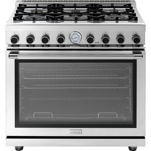 Next 36 6.7 cu ft. Free-standing Gas Range by Superiore