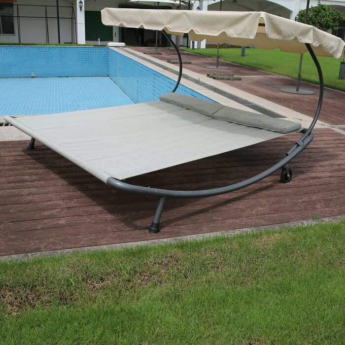 beige clearance pertaining to within tropical patio chaise pool cushions design ideas outdoor lounge double with