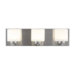 Compare Jusino 3-Light LED Vanity Light By Brayden Studio