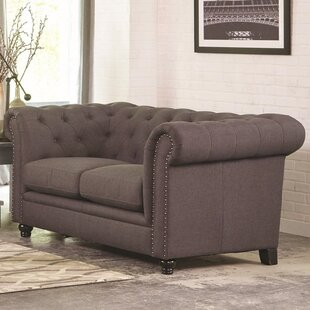 Shop For Vanallen Chesterfield Loveseat by Darby Home Co Reviews (2019) & Buyer's Guide