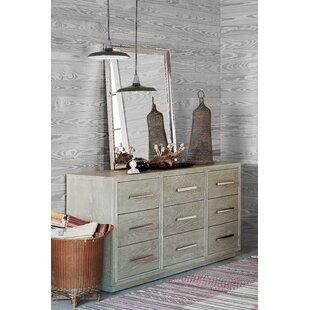 Gracie Oaks Rimini 9 Drawer Dresser
