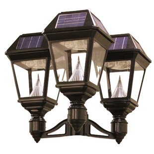 Clearance Imperial II Outdoor 21-Light LED Lantern Head By Gama Sonic