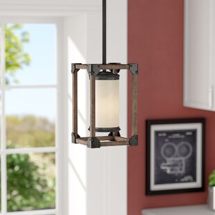 Cheyanne 1-Light Rectangle Pendant by 17 Stories
